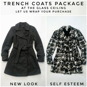 TRENCH COATS PACKAGE SIZE S
